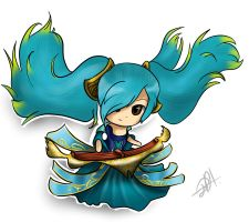 Sona Fan Art by AriannaFox