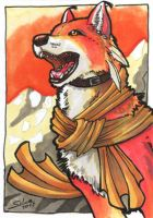 ACEO -Youko- by CrescentMoon