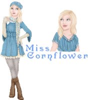 MMP Round One: Cornflower by strawberri-hail