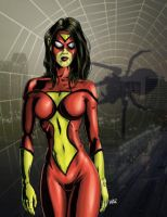 SpiderWoman by JLWarner