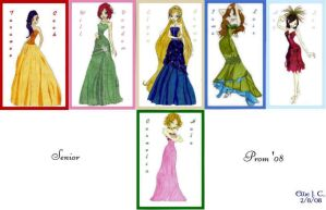 Senior Prom Collection by Sokai-Sama