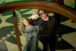 Tim Burton and his wonderland by HelenaIST