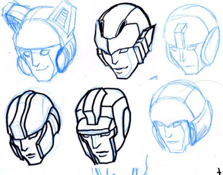 Helmet Designs for Boy by batchix