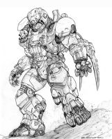 RIFTS COUGAR POWER ARMOR by ChuckWalton