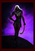Drow Lady by tylermcdowell
