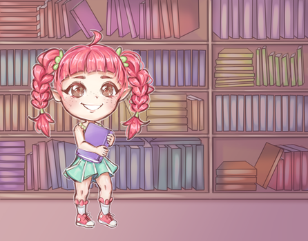 c: Full of Books by Moossey