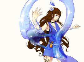 Commission - Water Bender by kai-shii