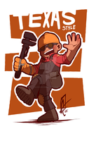 TF2 - Texas Style - by BloodyArchimedes