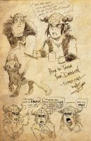 HTTYD - Sketches by Orcagirl2001