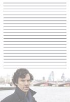 Sherlock Stationery by pfeifhuhn