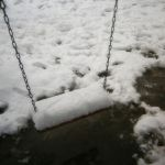 Snow on the playground I by andromeda-ek