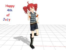 4th of July Teto by shugo974