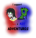 Sen and Akir Adventures Support by Defect23