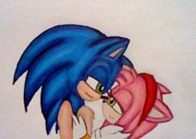 SonAmy Love by GothNebula