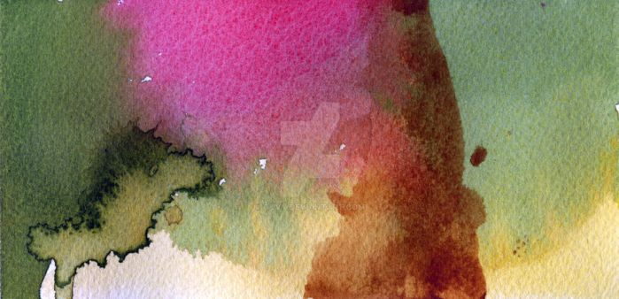 Experimenting with watercolours III by Guvy