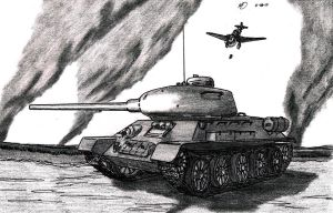 T-34-85 by TimSlorsky