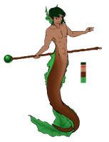 Merman Adrian by MermanThaylen