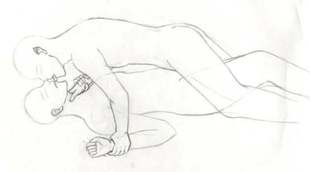 A Yaoi-esque WIP-- take2 by BardicKitty