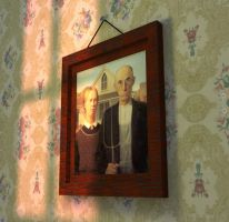 American Gothic by Corvat
