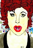 Ruby Wax 2 by AnalieKate