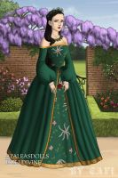 young Queen Catherine of Argon by BellatrixStar88