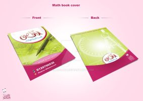 Math book cover by elhosary