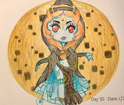 Day 50: Twilight Princess by LaPetitLapearl