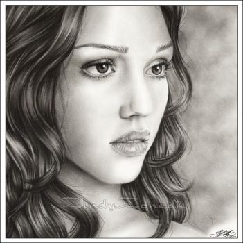 Jessica Alba - The beauty by Zindy