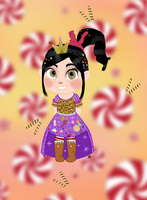 Vanellope Sugar Rush Dress by Glitzerland