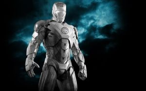 Iron Man White Lantern Armor by 666Darks