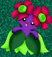 182 Bellossom Lineart By Lilly Gerbil by xxPandora-Shiorixx
