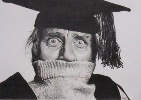 Spike Milligan by mickoc
