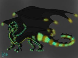 Megadragon color test by ShardianofWhiteFire