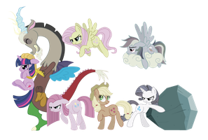 Discord and Friends by SpaceKitty