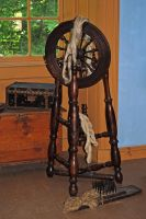 spinning wheel 3 by LucieG-Stock