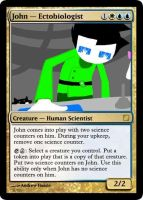 Magic: John - Ectobiologist by cybernerd129