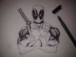 Deadpool by Kamzeet