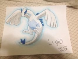 Pokemon : Lugia~ by animelover287