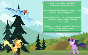 Credits Page for Game Assignment by Dreigo92
