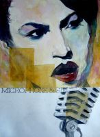 microphone girl by ottolga
