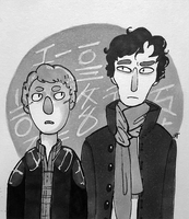 Detective + Blogger (inktober) by autumnicity