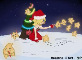 Christmas Rosalina - Lumas love candies by blancj11