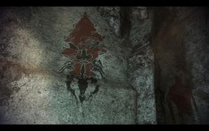 ME3 Cave Painting of Leviathan by chicksaw2002