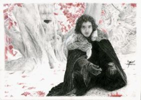 Jon Snow by croatian-artist-girl