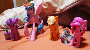 My Little Pony G4 by BeyondInfinite