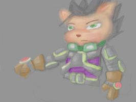 Unamed Yordle- Test color/drawing by lucario-sensei