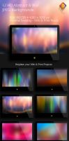 Abstract and Blur Backgrounds V2 by LuisFaus