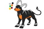 Leo the Houndoom Reference Profile by XfangheartX