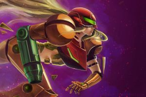 Samus by Chukairi