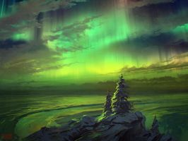 Speedpaint: Nothern Light by RHADS
